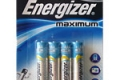 "⁣Батарейки Energizer Maximum ""AAA"" LR03 мизинчик, 4 шт."